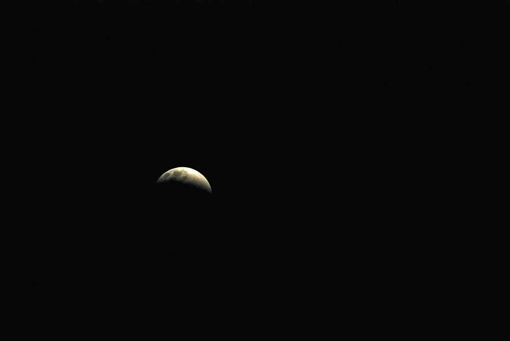 Tonights eclipse by Chris  O'Mara