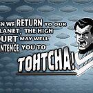 """Tohtcha!"" Mug (Saucer fleet) by marlowinc"