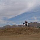 Motocross - Lake Elsinore, CA Sunset by leih2008