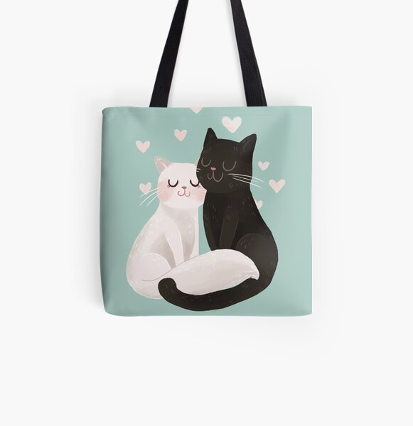 Catlove All Over Print Tote Bag