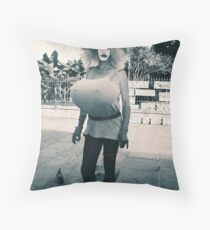 Just for kicks Throw Pillow