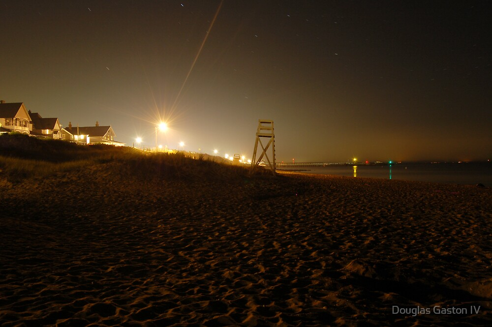 Night Beach by Douglas Gaston IV