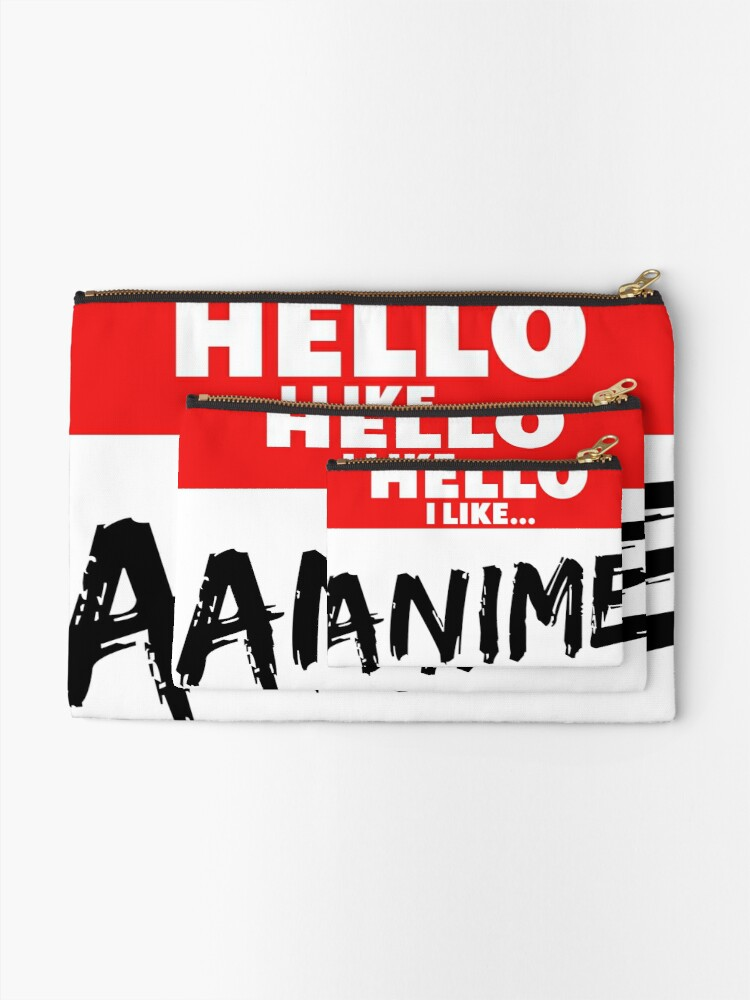 Alternate view of Anime Zipper Pouch