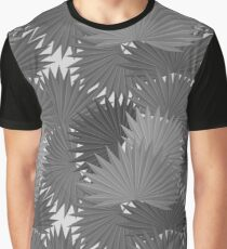 Tropical leaves of palm tree Graphic T-Shirt
