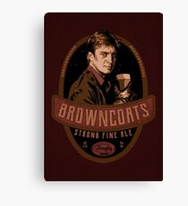 browncoat's ale Canvas Print