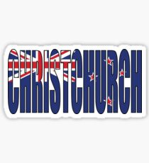 Christchurch Sticker