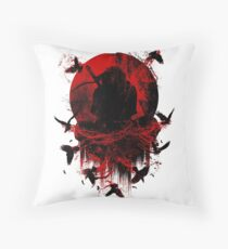 Ninja Clash Throw Pillow