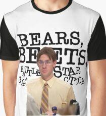 Bears, Beets, Battlestar Galactica Graphic T-Shirt