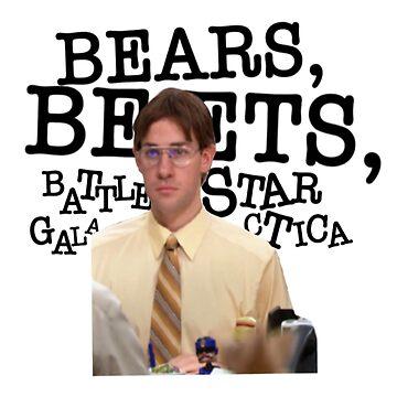Bears, Beets, Battlestar Galactica by sophieclaflin