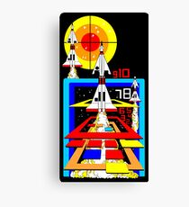 Retro Arcade Missile Command Canvas Print