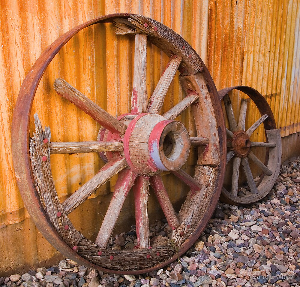 Old Wheels by Barry L White