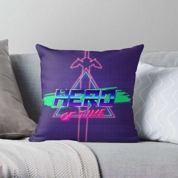 Tri Wave Throw Pillow