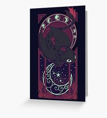Art of the Night Greeting Card
