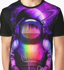 Music in space Graphic T-Shirt