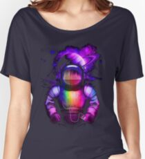 Music in space Women's Relaxed Fit T-Shirt