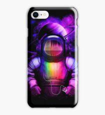Music in space iPhone Case/Skin