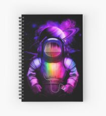 Music in space Spiral Notebook