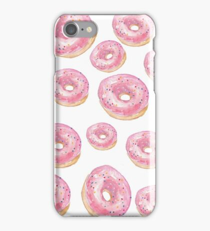 Watercolor donuts iPhone Case/Skin