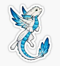 Angel Dragon Sticker