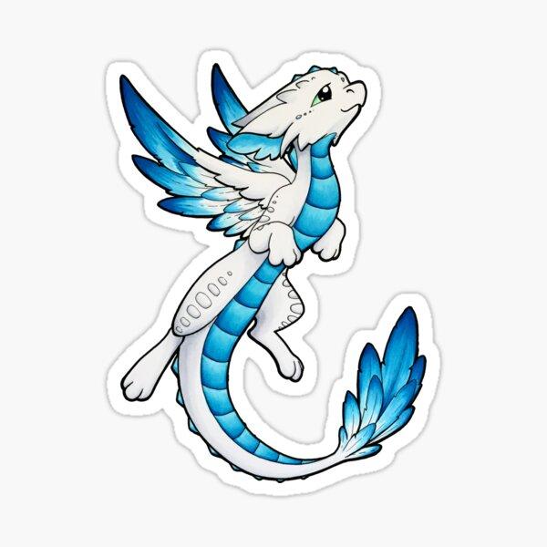 Angel Dragon Sticker