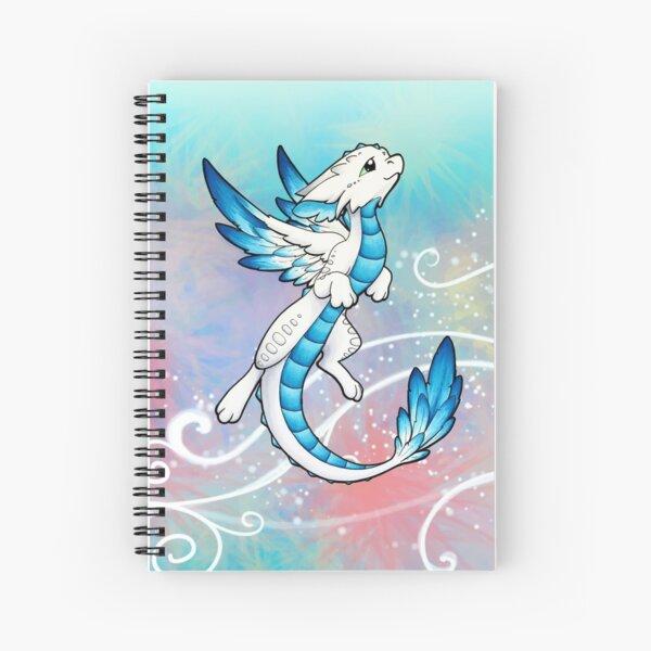 Angel Dragon Spiral Notebook