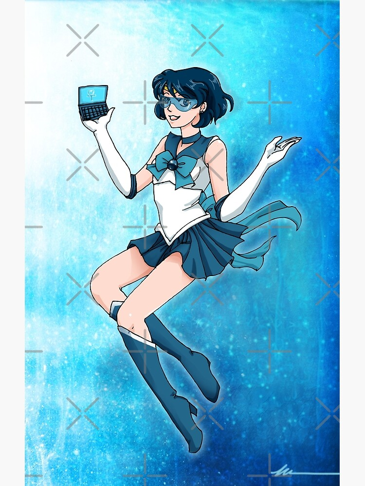 Sailor Senshi of Knowledge & Ice by MaeganCook