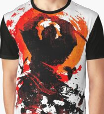 Samurai Clash Graphic T-Shirt