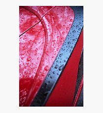 Damn, just waxed it! > Photographic Print