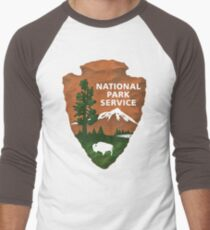 National Park Service Men's Baseball ¾ T-Shirt