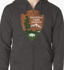 National Park Service Zipped Hoodie