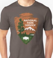 Nationalpark Service Slim Fit T-Shirt