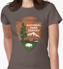Nationalpark Service Tailliertes T-Shirt