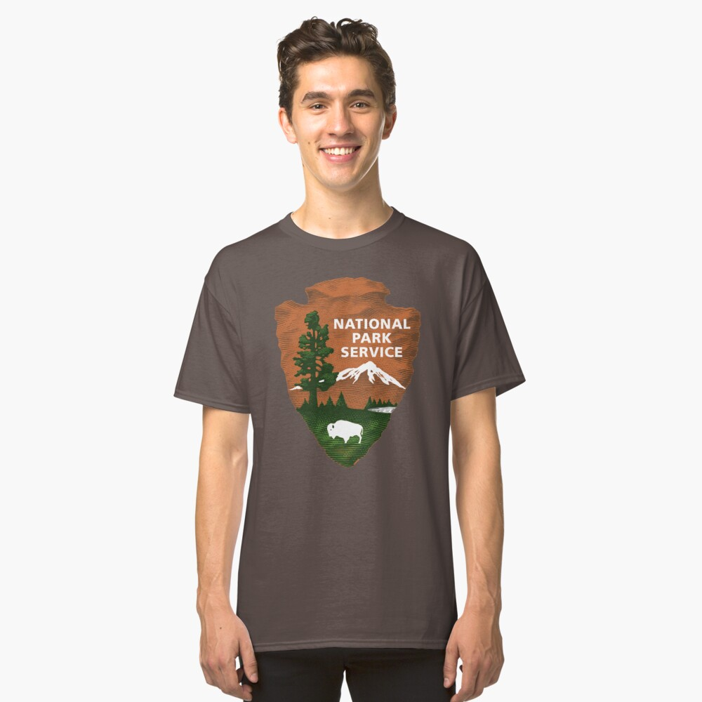 Nationalpark Service Classic T-Shirt
