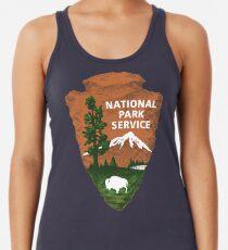 Nationalpark Service Racerback Tank Top