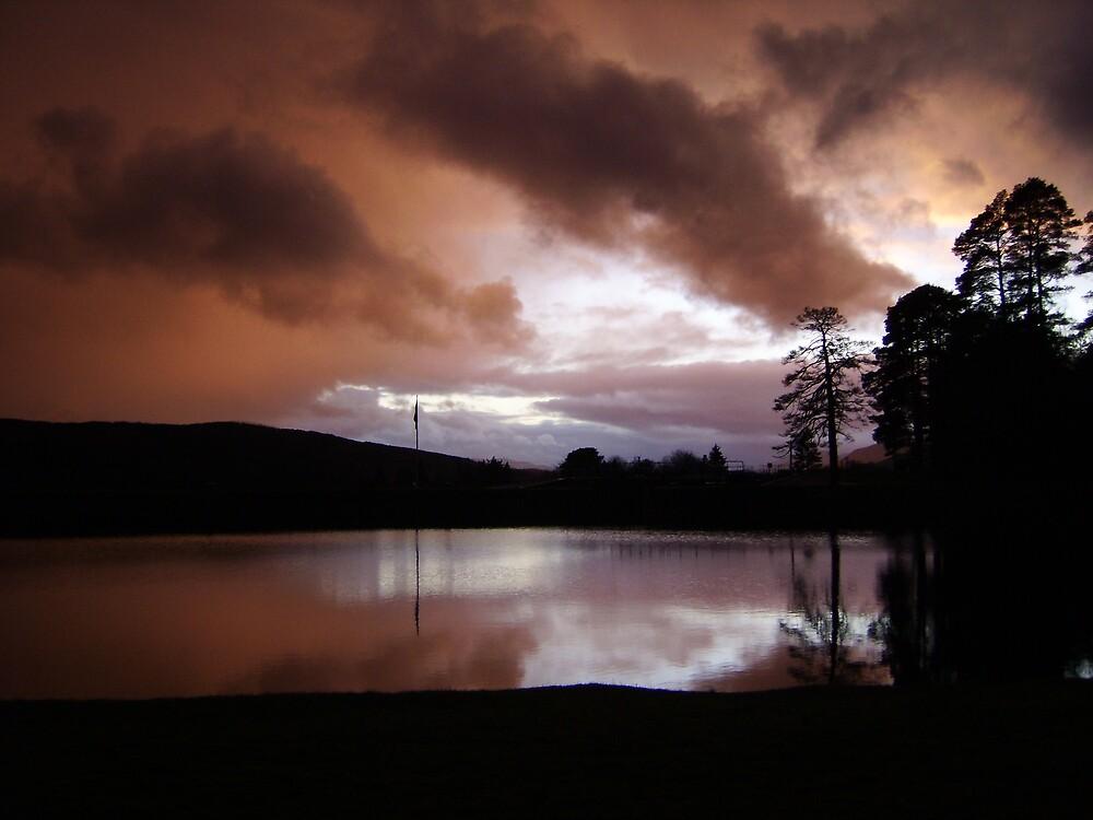 Cairngorm Sunset by Monster