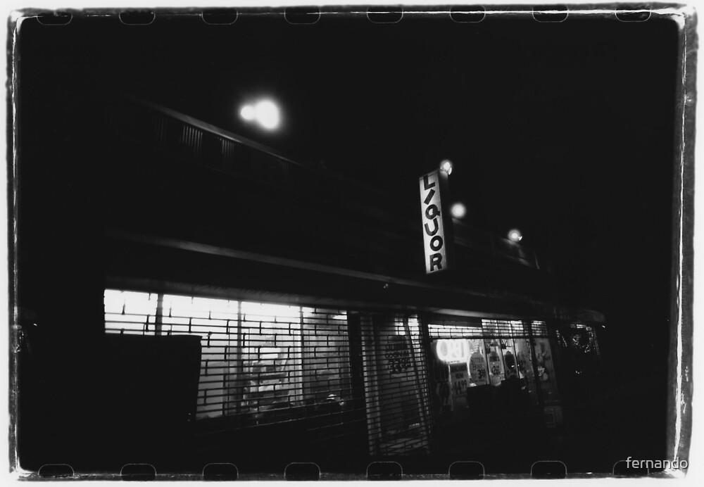 Liquor Store by fernando