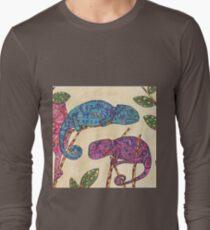 Colourful chameleons  Long Sleeve T-Shirt