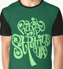 Happy St. Patrick's Day Graphic T-Shirt