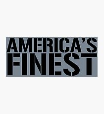 America's Finest, Marines, Army, Navy, Air Force, Coast Guard Photographic Print