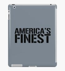 America's Finest, Marines, Army, Navy, Air Force, Coast Guard iPad Case/Skin