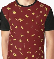 Scarlet and Gold Graphic T-Shirt
