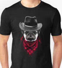 Cowboy Pug Unisex T-Shirt