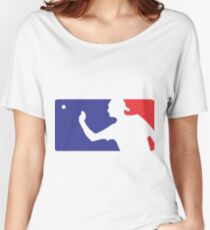 Major League Beer Pong  Women's Relaxed Fit T-Shirt