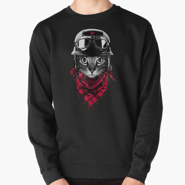 Adventurer Cat Pullover Sweatshirt