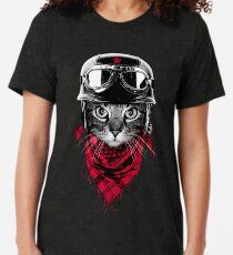 Adventurer Cat Tri-blend T-Shirt