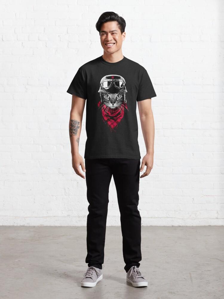 Alternate view of Adventurer Cat Classic T-Shirt