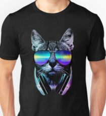 Music Lover Cat Unisex T-Shirt