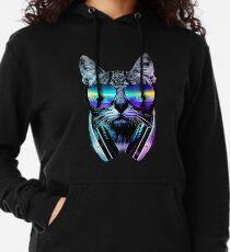 Music Lover Cat Lightweight Hoodie