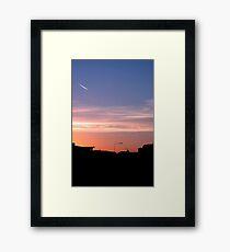 GOOD MORNING CORK Framed Print
