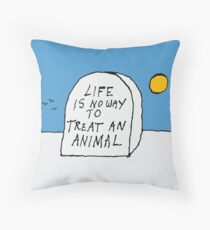 Life. Throw Pillow